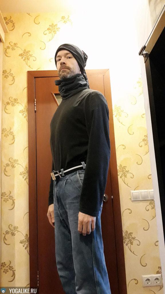 Второй слой одежды для бега зимой сохраняет тепло
